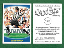 Newcastle United David Ginola France 176